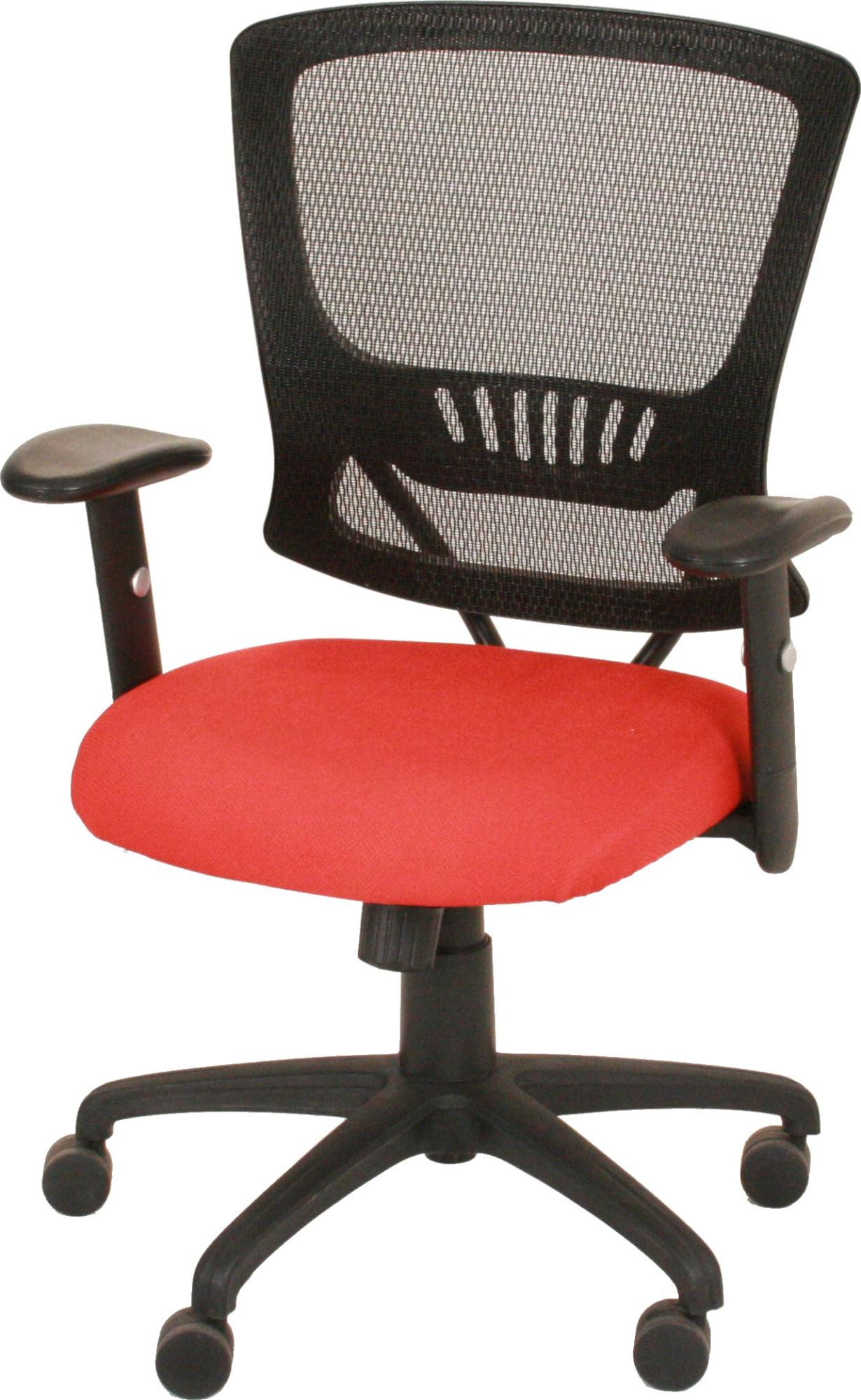 with office seat relay mesh ren chair red